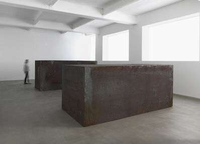 Richard Serra, 'Rounds: Equal Weight, Unequal Measure', 2016