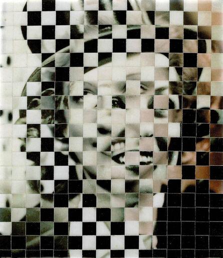 Samin Ahmadzadeh, '10,000 Faces VII', 2017
