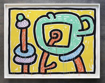 Keith Haring, 'Flowers III', 1990