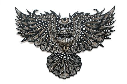 Dennis McNett, 'Owl Spirit II', 2018