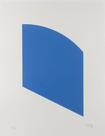 Ellsworth Kelly, 'Blue', 2003