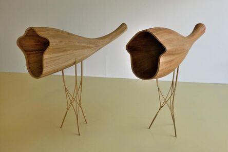Bernhard Rüdiger, 'Unbekannte Vögel (Von Westen, nach Erich Nossack)', 2003-2011