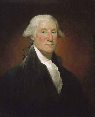 Gilbert Stuart, 'George Washington (Vaughan portrait)', 1795