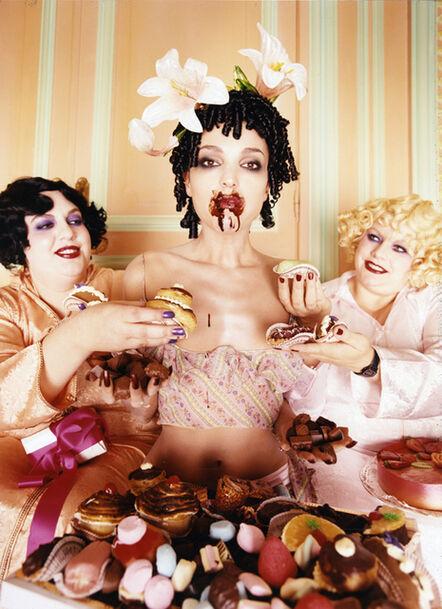 David LaChapelle, 'Chocolates, Paris', 1996
