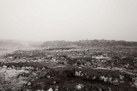 Dannie Liebergot, 'Snow Covered Lava Field 2', 2015