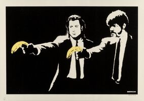 Banksy, 'Pulp Fiction', 2003
