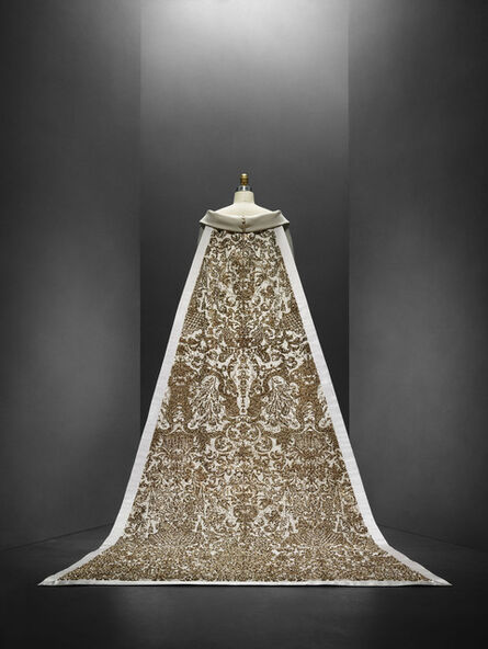 Karl Lagerfeld for House of Chanel, 'Wedding Ensemble (back view)', autumn/winter 2014–15