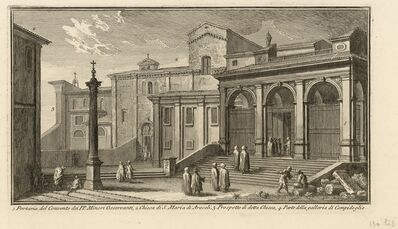Giuseppe Vasi, 'Portaria del Convento dei PP. Minori Osservanti', 1747-1801
