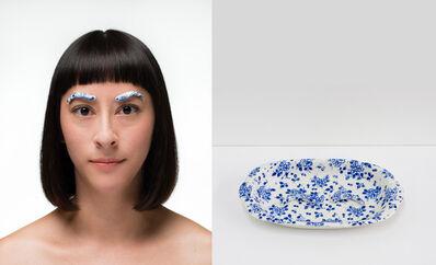 Jennifer Ling Datchuk, 'Blue and White: Elegant Ingenue', 2014