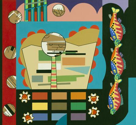 Trevor Winkfield, 'Magnification', 2010