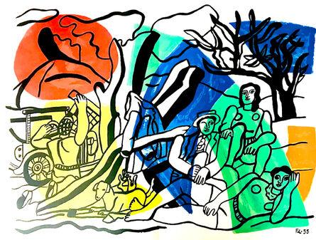 Fernand Léger, 'La Partie de Campagne', 1960