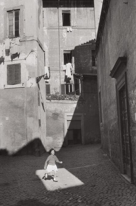 Henri Cartier-Bresson, 'Trastevere, Rome', 1959