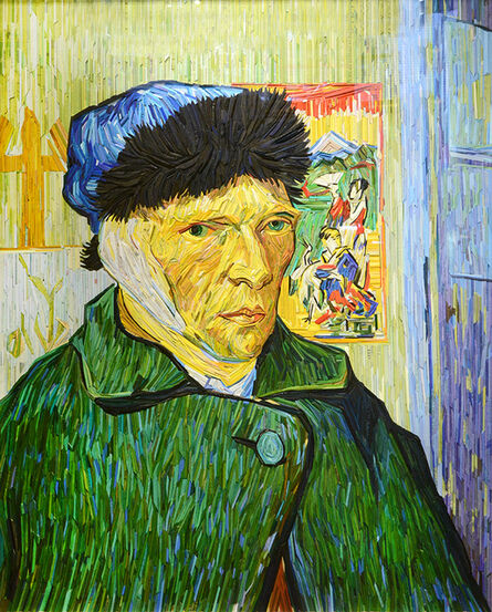 Kyu-Hak Lee, 'Van Gogh portrait with Bandaged Ear', 2018