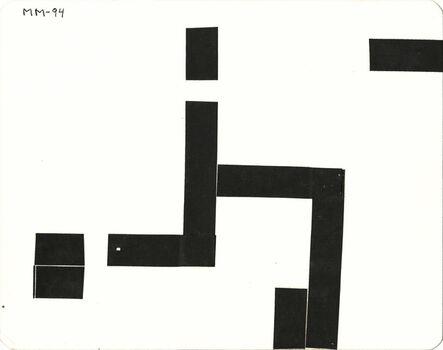 Montez Magno, 'Série Mondrian's Variations', 1994