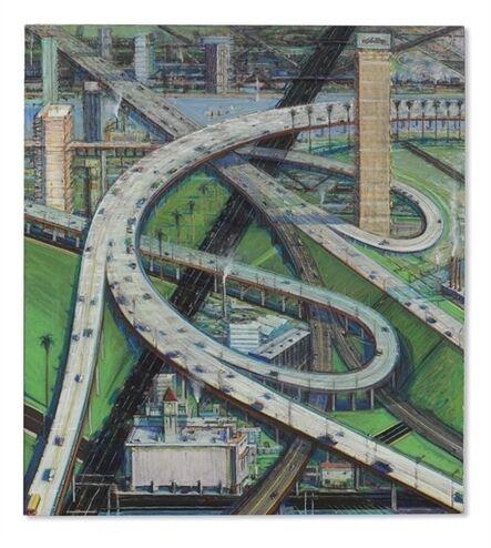 Wayne Thiebaud, 'Interchange'
