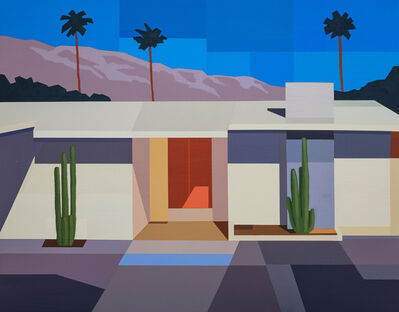 Andy Burgess, 'Palm Springs House I', 2017
