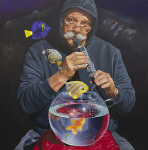 Teresa Brutcher, 'Poseidon's Grandfather Was A Fish Charmer ', 2020