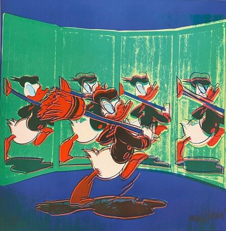 Andy Warhol, 'Donald Duck', 1986
