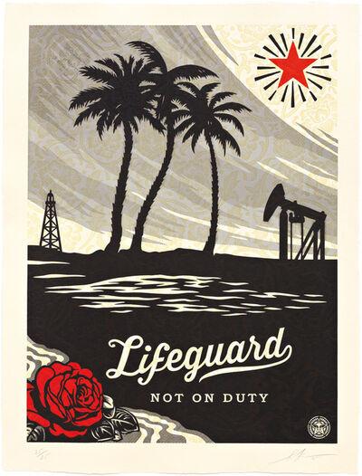 Shepard Fairey, 'Lifeguard Not on Duty ', 2015