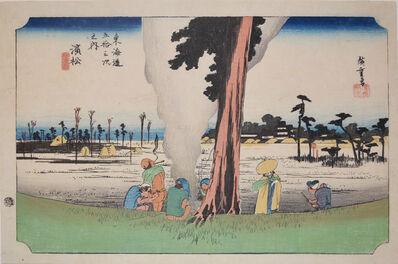 Utagawa Hiroshige (Andō Hiroshige), 'Hamamatsu', 1832-1833