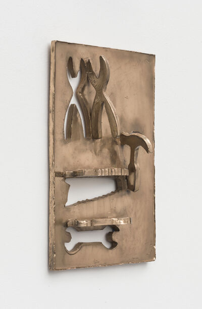 Zak Kitnick, 'The Productive Years (Construction Tools Cookie Cutter Set - 4 Piece - Saw, Pliers, Wrench, Hammer - Ann Clark - Tin Plated Steel)', 2020