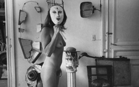 Liliana Maresca, ' Untitled. Liliana Maresca with her artworks.', 1983