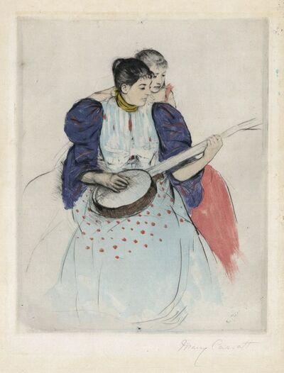 Mary Cassatt, 'The Banjo Lesson.', 1894