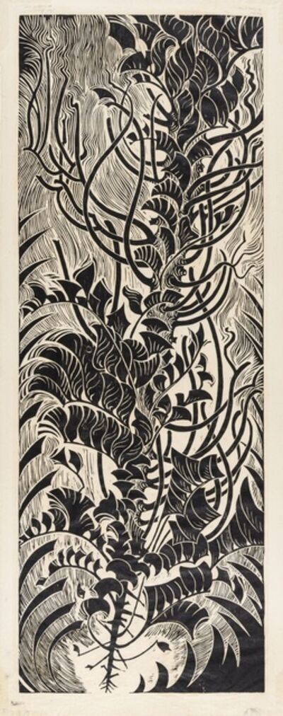 Sybil Andrews, 'Red Cedar The Passage of Time (Coppel SA A/2)', 1977