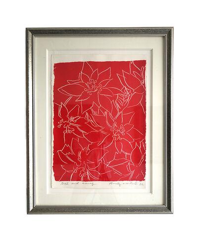 Andy Warhol, 'Poinsettias', 1982