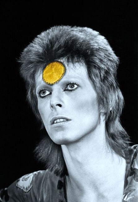 Mick Rock, 'Bowie Gold Spot', 1973