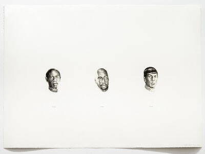 Edgar Arceneaux, 'Spock Tuvok Tupac', 2006
