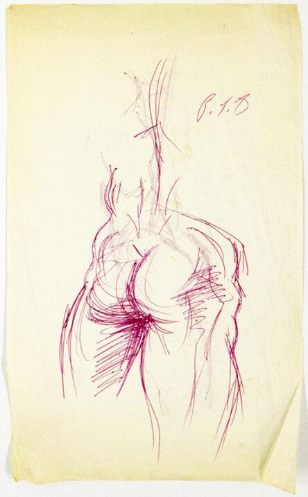 John S Barrington, 'Backside', 1921-1999
