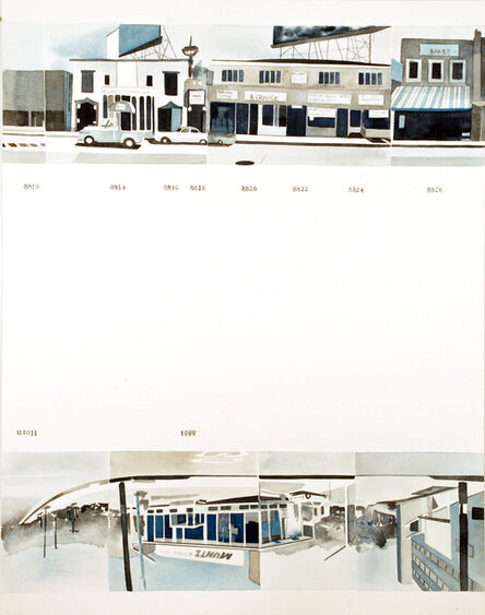 Amy Park, 'Ed Ruscha's Every Building on the Sunset Strip, #36', 2016