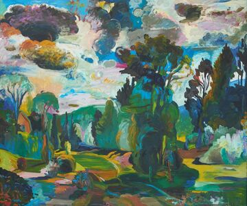 Nancy Friese, 'Into the Sun II', 1989