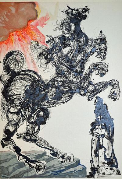Salvador Dalí, 'Cerberus, Inferno canto 6, The Divine Commedy', 1959-1963