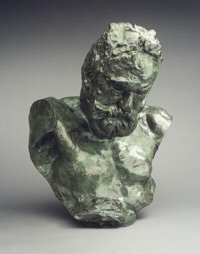 Auguste Rodin, 'Monumental Bust of Victor Hugo', 1902