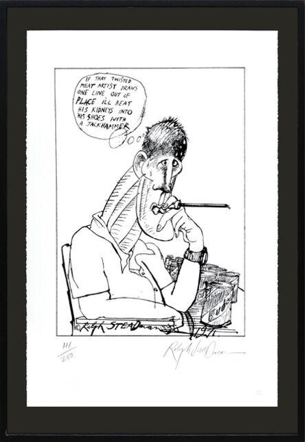 Ralph Steadman, 'Hunter S. Thompson, Twisted Meat Artist.', 2006