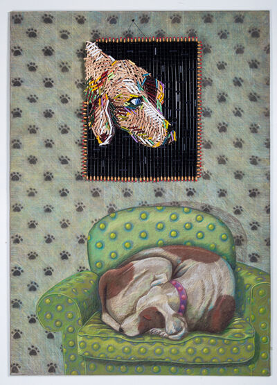 Federico Uribe, 'Dog's Painting', 2017