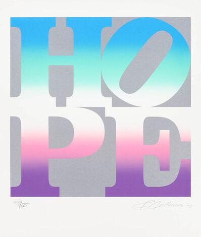 Robert Indiana, 'Four Seasons of Hope:  Sprint (Silver)', 2012