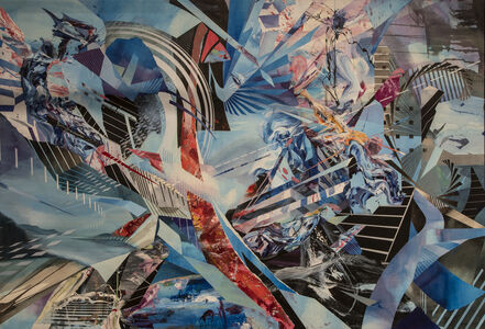 Oliver Vernon, 'Sideways Seven', 2014