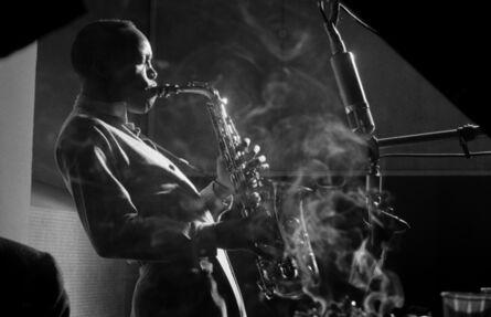 Herman Leonard, 'Sonny Stitt, NYC', 1953