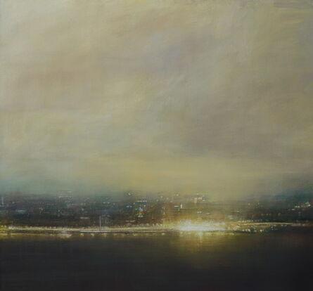Benjamin Warner, 'Dusk, Hong Kong Harbour', 2019