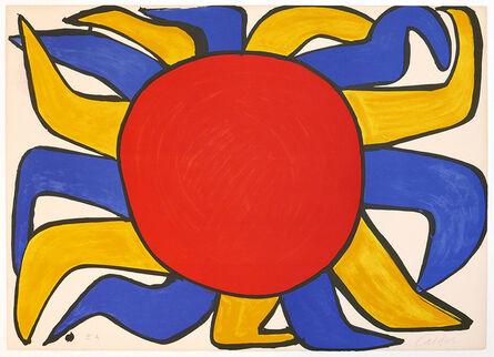 Alexander Calder, 'Sun (from Our Unfinished Revolution)'