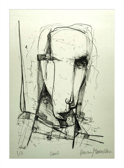 Hassan Manasrah, 'The Face of a Patient', 2005