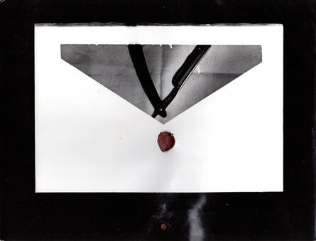 Anna Bella Geiger, 'Carta a un amigo', 1974