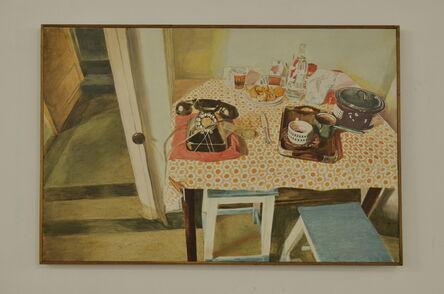 Matei Lazarescu, 'Kitchen Table', 1978