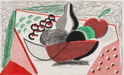 David Hockney, 'Apples, Pears & Grapes, May 1986', 1986