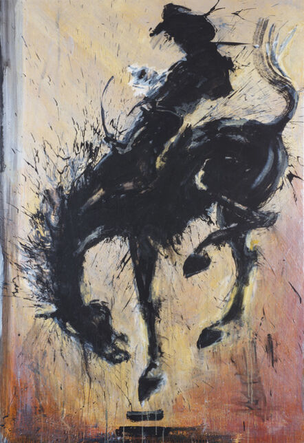 Richard Hambleton, 'Horse & Rider', 2015