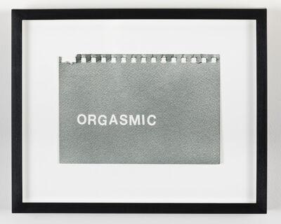 Betty Tompkins, 'Orgasmic', 2016
