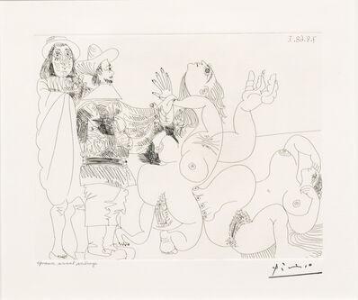 Pablo Picasso, 'Jeune Seigneur Fantoche..., from the 347 Series', 1968